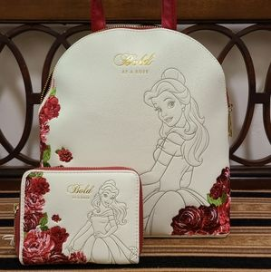 Loungefly Disney Belle - Bold as a Rose